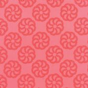 Moda Aria by Kate Spain - 4552 - Fern on Coral, Floral Tone on Tone  - 27232 11 - Cotton Fabric